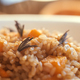 Pumpkin risotto close up. - PhotoDune Item for Sale