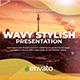 Wavy Stylish Presentation - VideoHive Item for Sale