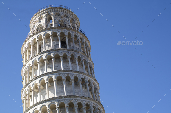 The leaning tower of Pisa - Stock Photo - Images