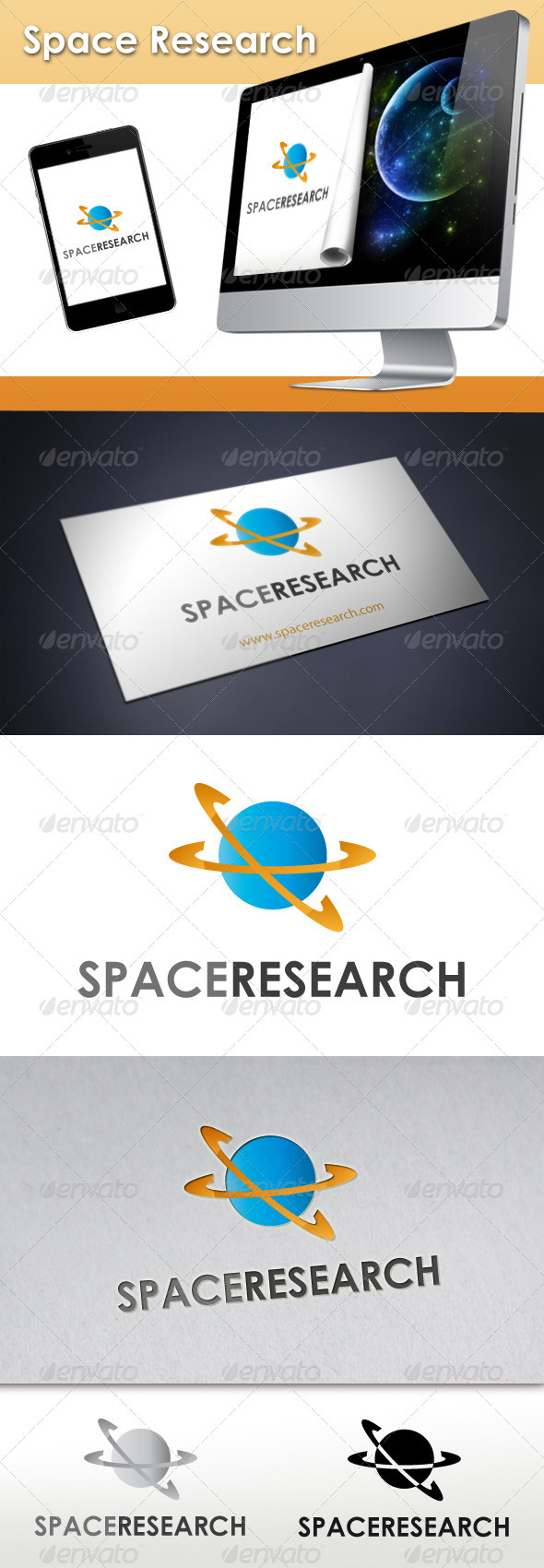 Space Research Logo - Objects Logo Templates