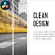 Modern Business - Clean Lines // DaVinci Resolve - VideoHive Item for Sale