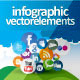 Social Media Infographic Vector Elements - GraphicRiver Item for Sale