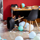 After party chaos, messy in livving room at home - PhotoDune Item for Sale