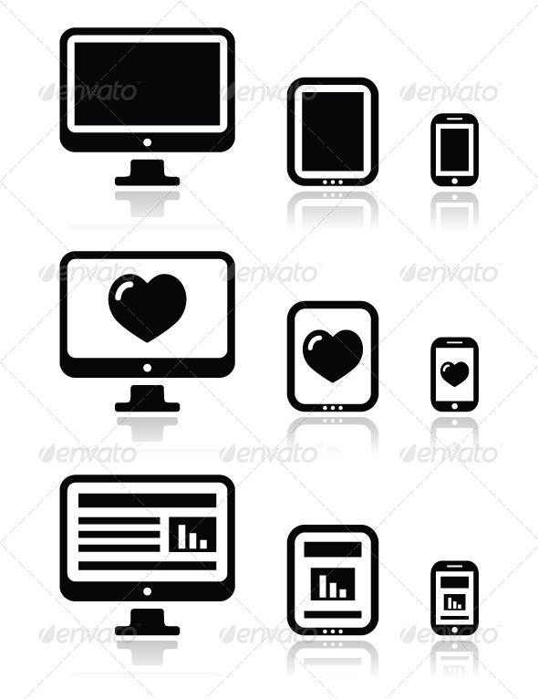 Responsive website design - screens - Web Technology