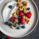 Healthy breakfast, cereal with berries and yogurt - PhotoDune Item for Sale