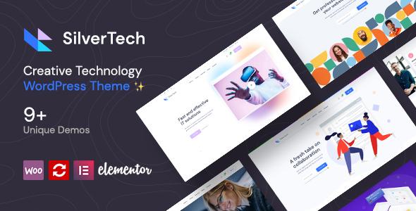 Download Silvertech – Creative WordPress Theme Free Nulled