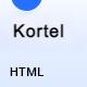 Kortel - Lead Generation HTML Landing Page Template