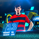 soccer players - VideoHive Item for Sale