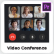 Video Conference Calls Builder | Premiere Pro - VideoHive Item for Sale