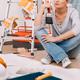 Woman Makes Repairs - PhotoDune Item for Sale