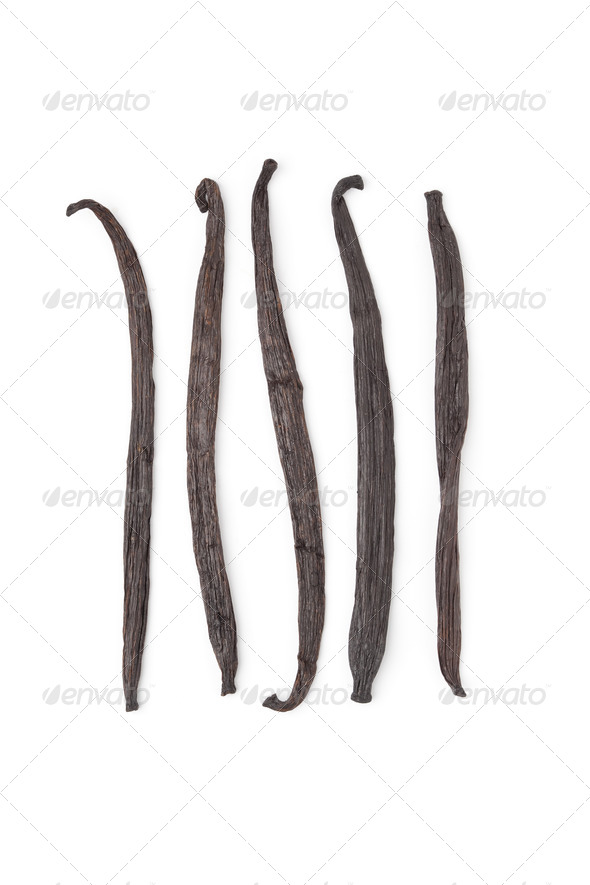 Vanilla beans - Stock Photo - Images