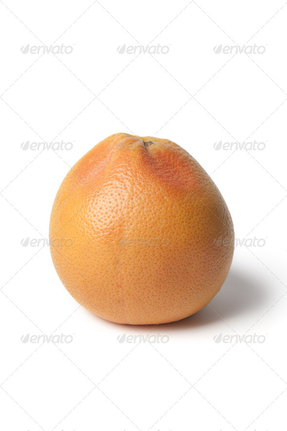 Whole single grapefruit - Stock Photo - Images