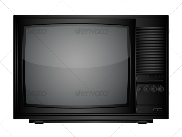 TV set - Retro Technology