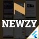 Newzy - Flutter Wordpress app for Blogs & News