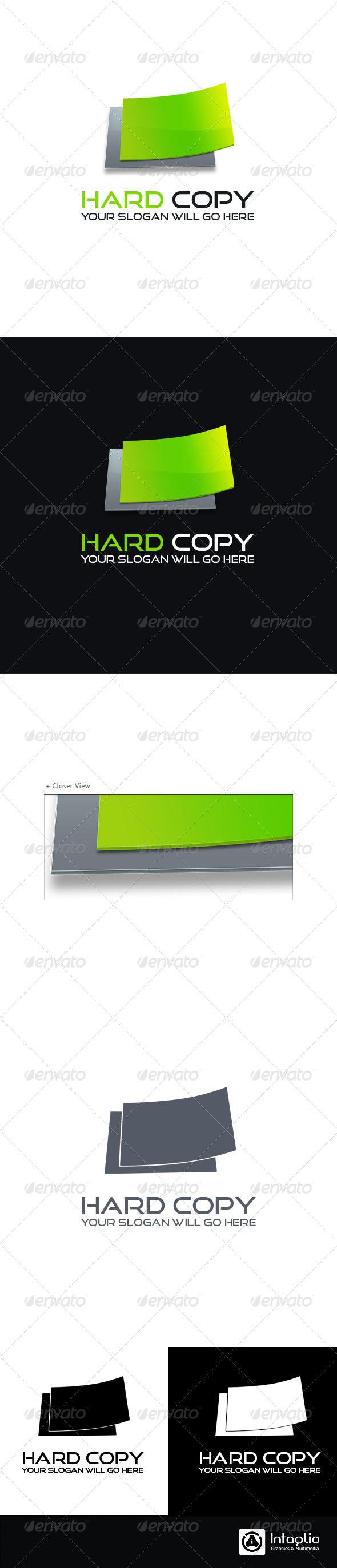 Print Logo - Hard Copy - 3d Abstract