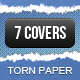 Torn Paper Facebook Timeline Cover - GraphicRiver Item for Sale