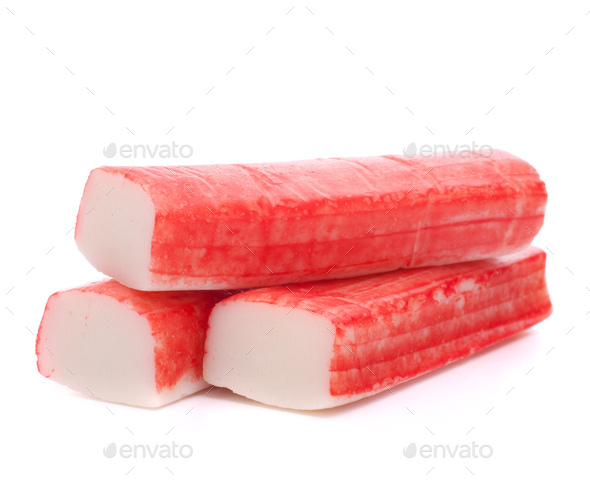 Crab sticks group - Stock Photo - Images