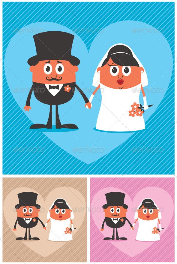 Groom and Bride - Weddings Seasons/Holidays