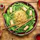 Oriental vegetable salad with pasta - PhotoDune Item for Sale