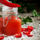 Spicy Tabasco sauce in a bottle, selective focus - PhotoDune Item for Sale