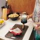 Woman having vegan breakfast - PhotoDune Item for Sale