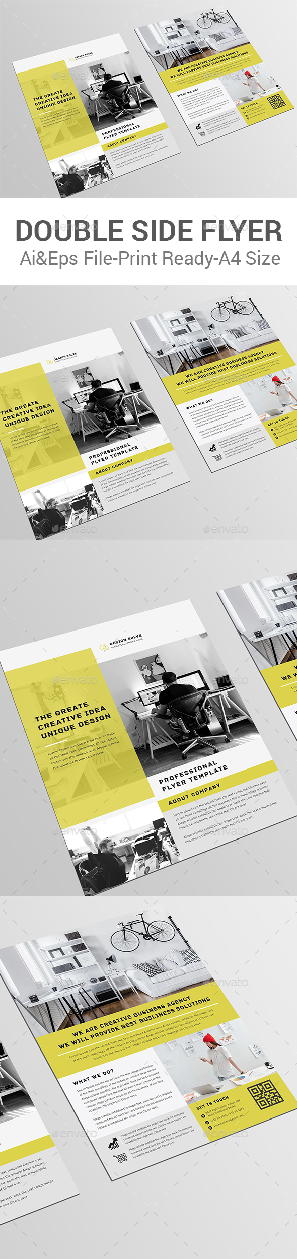 Double Side Flyer Template