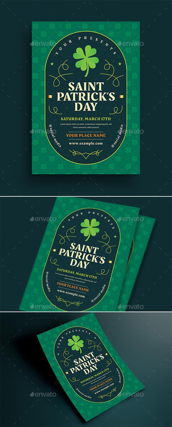 Saint Patrick's Day Event Flyer