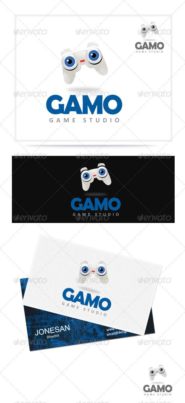 Gamo - Game Studio - Objects Logo Templates