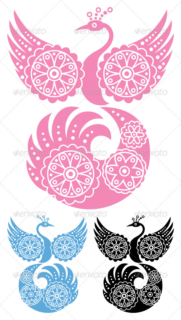 Decorative Bird - Decorative Symbols Decorative