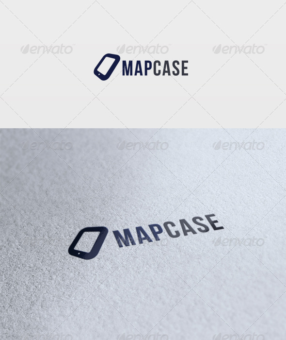 Mapcase Logo - Vector Abstract