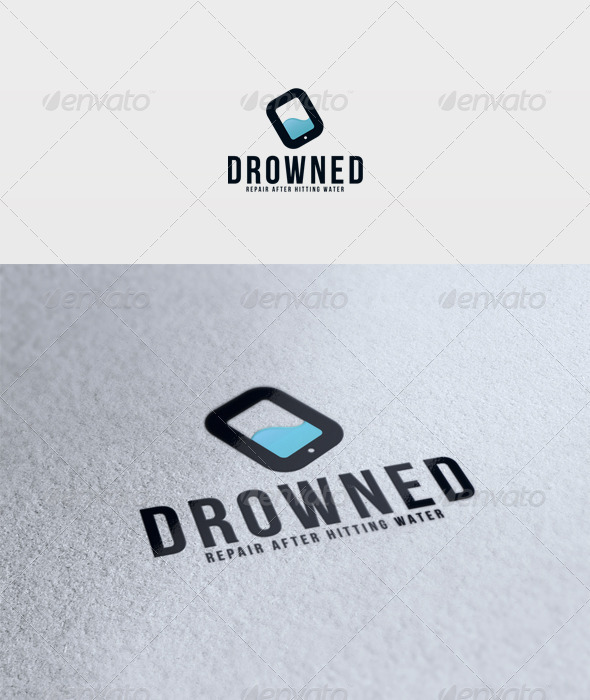 Drowned Logo - Objects Logo Templates