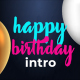 Birthday_Intro - VideoHive Item for Sale