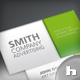 Set of 4 Plain Business Cards - GraphicRiver Item for Sale
