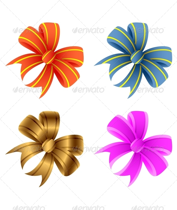 Bows. - Objects Vectors
