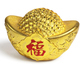 Chinese New Year Gold Ingot Ornament - PhotoDune Item for Sale
