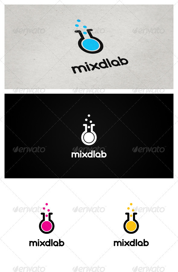 Mixdlab - Objects Logo Templates