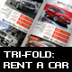 Tri-fold: Rent a Car - GraphicRiver Item for Sale