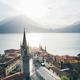 Aerial view Como lake. - PhotoDune Item for Sale