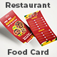 Restaurant Menu DL Flyer