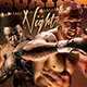 Boxing Game Flyer