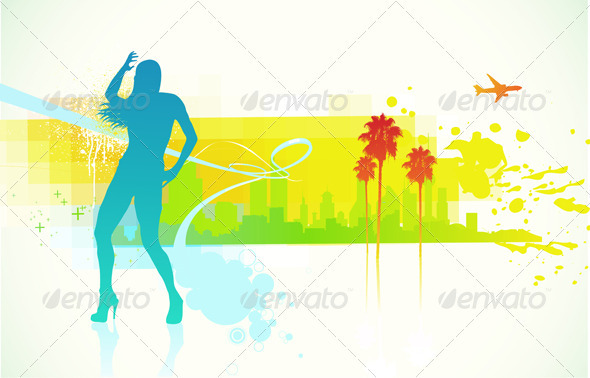 Urban background - Backgrounds Decorative