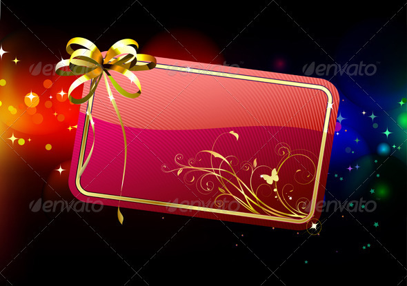 Gift card - Seasons/Holidays Conceptual