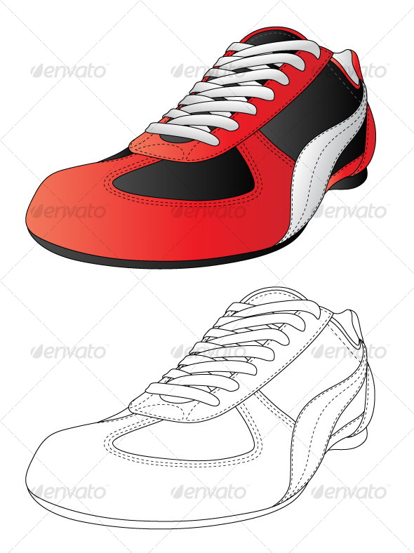 Sport shoes - Sports/Activity Conceptual