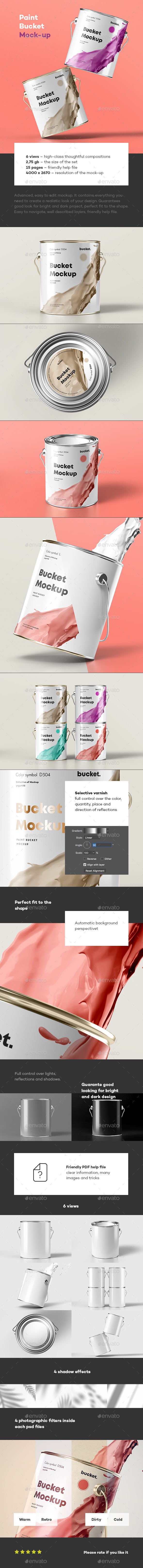 Paint Bucket Mock-up