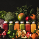 Fresh smoothies or juices for detox program or weight loss - PhotoDune Item for Sale