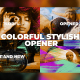 Colorful Stylish Opener - VideoHive Item for Sale