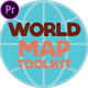World Map Toolkit - VideoHive Item for Sale