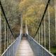 Suspension bridge made of wood and steel - PhotoDune Item for Sale