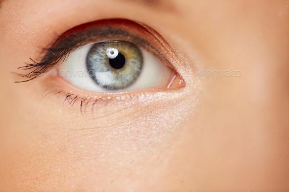 Female eye - Stock Photo - Images