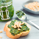 baguette bread with fresh pesto - PhotoDune Item for Sale